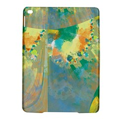 Abstract Flower Design In Turquoise And Yellows Ipad Air 2 Hardshell Cases