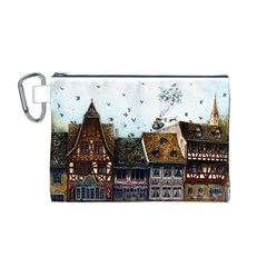 Rooftop Canvas Cosmetic Bag (M)