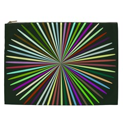 Colorful Rays Cosmetic Bag (xxl)