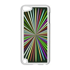 Colorful Rays Apple Ipod Touch 5 Case (white)
