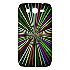 Colorful Rays Samsung Galaxy Mega 5 8 I9152 Hardshell Case