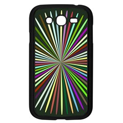 Colorful Rays Samsung Galaxy Grand Duos I9082 Case (black)