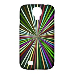 Colorful Rays Samsung Galaxy S4 Classic Hardshell Case (pc+silicone)