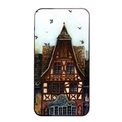 Rooftop Verticle 01 Apple iPhone 4/4s Seamless Case (Black)