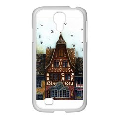 Rooftop Verticle 01 Samsung Galaxy S4 I9500/ I9505 Case (white)