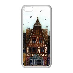 Rooftop Verticle 01 Apple Iphone 5c Seamless Case (white)