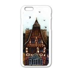 Rooftop Verticle 01 Apple Iphone 6 White Enamel Case