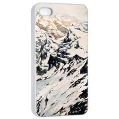Snowmountain Apple Iphone 4/4s Seamless Case (white)