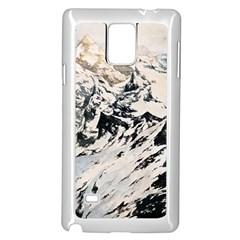Snowmountain Samsung Galaxy Note 4 Case (white)