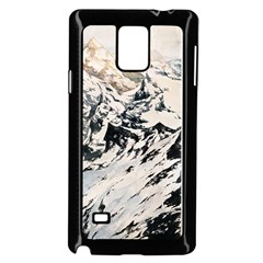 Snowmountain Samsung Galaxy Note 4 Case (Black)