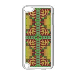 Tribal Shapes Pattern Apple Ipod Touch 5 Case (white)