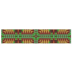Tribal shapes pattern Flano Scarf