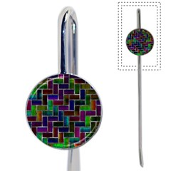 Colorful Rectangles Pattern Book Mark