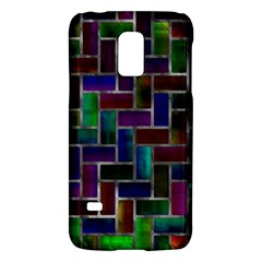 Colorful Rectangles Patternsamsung Galaxy S5 Mini Hardshell Case