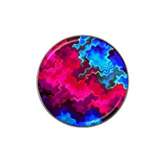 Psychedelic Storm Hat Clip Ball Marker