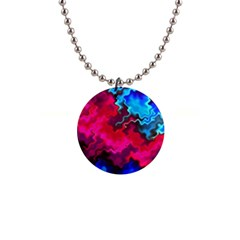 Psychedelic Storm Button Necklaces