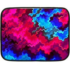 Psychedelic Storm Fleece Blanket (Mini)