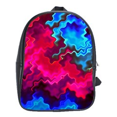 Psychedelic Storm School Bags(large)