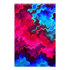 Psychedelic Storm Shower Curtain 48  x 72  (Small)