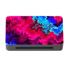 Psychedelic Storm Memory Card Reader With Cf