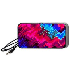 Psychedelic Storm Portable Speaker (Black)