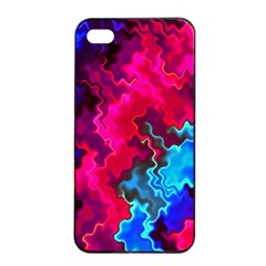 Psychedelic Storm Apple Iphone 4/4s Seamless Case (black)