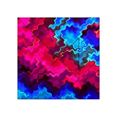 Psychedelic Storm Acrylic Tangram Puzzle (4  X 4 )