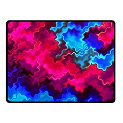 Psychedelic Storm Double Sided Fleece Blanket (Small)