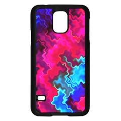 Psychedelic Storm Samsung Galaxy S5 Case (black)