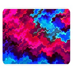 Psychedelic Storm Double Sided Flano Blanket (small)