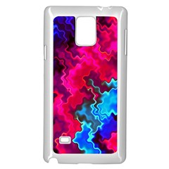 Psychedelic Storm Samsung Galaxy Note 4 Case (white)