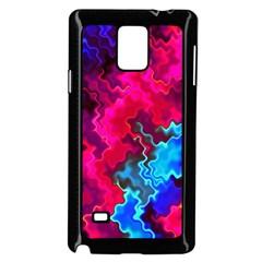 Psychedelic Storm Samsung Galaxy Note 4 Case (black)