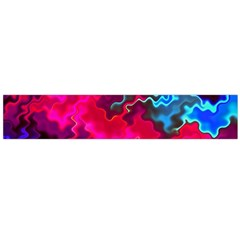 Psychedelic Storm Flano Scarf (Large)