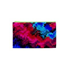 Psychedelic Storm Cosmetic Bag (XS)