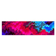 Psychedelic Storm Satin Scarf (Oblong)