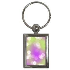 Modern Bokeh 7 Key Chains (rectangle)