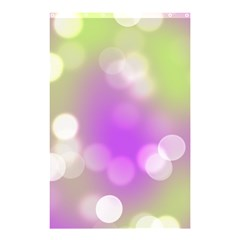 Modern Bokeh 7 Shower Curtain 48  X 72  (small)