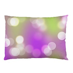 Modern Bokeh 7 Pillow Cases (two Sides)