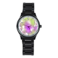 Modern Bokeh 7 Stainless Steel Round Watches