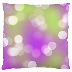 Modern Bokeh 7 Large Flano Cushion Cases (one Side)