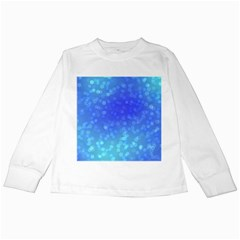 Modern Bokeh 8 Kids Long Sleeve T-Shirts