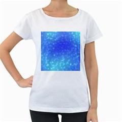 Modern Bokeh 8 Women s Loose-Fit T-Shirt (White)