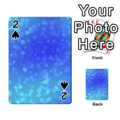 Modern Bokeh 8 Playing Cards 54 Designs