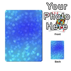 Modern Bokeh 8 Multi-purpose Cards (Rectangle)