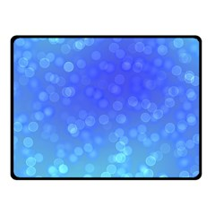 Modern Bokeh 8 Fleece Blanket (small)