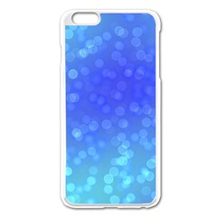 Modern Bokeh 8 Apple iPhone 6 Plus Enamel White Case