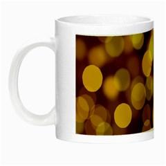Modern Bokeh 9 Night Luminous Mugs