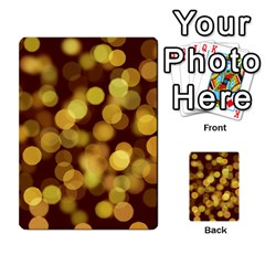 Modern Bokeh 9 Multi-purpose Cards (Rectangle)