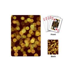 Modern Bokeh 9 Playing Cards (mini)