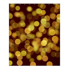 Modern Bokeh 9 Shower Curtain 60  x 72  (Medium)